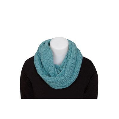 Lace Endless Scarf - Topaz