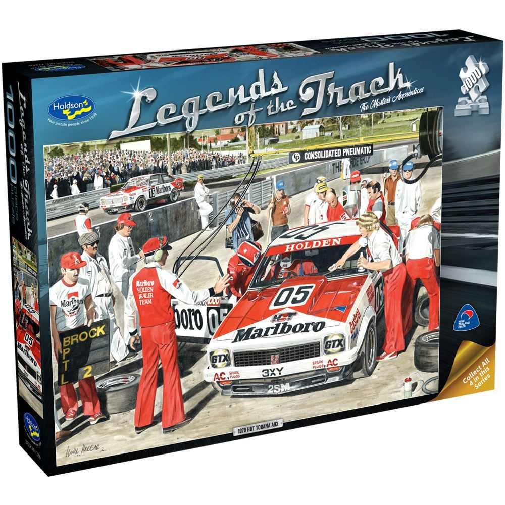 The Masters Apprentice - Legends of the Track Puzzle