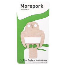 Load image into Gallery viewer, Morepork Bookmark