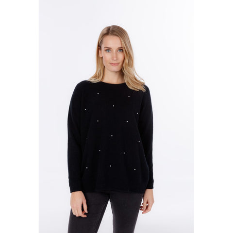 Night Sky Sweater - Black
