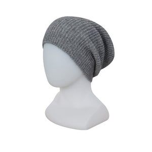 Slouch Beanie by Native World - Silver