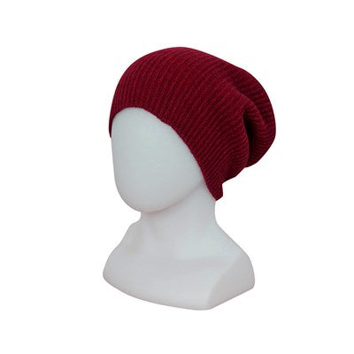 Slouch Beanie - Berry - one size