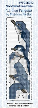 Cross Stitch Bookmark Kits - NZ Birds & Sheep