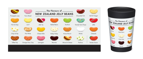 NZ Jelly Beans Coffee Cup - Glenn Jones