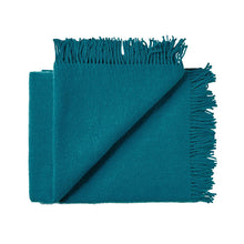 Load image into Gallery viewer, Nevis Throw - Turquoise