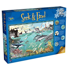 Load image into Gallery viewer, Seek & Find Puzzle - Ocean - 300 pieces - XL