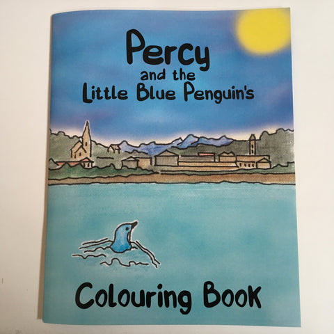 Colouring Book - Percy the Little Blue Penguin