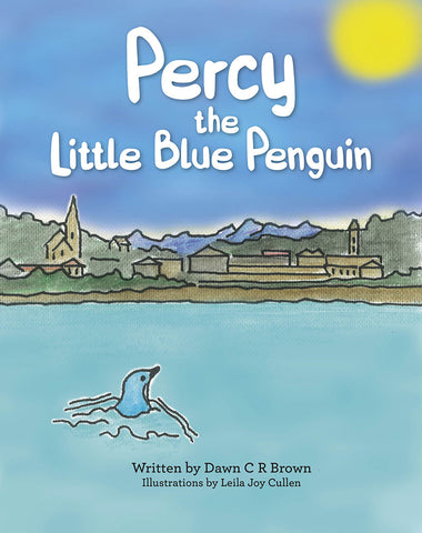 Percy the Little Blue Penguin Kid's Book