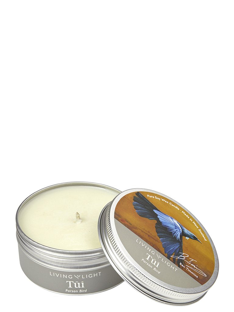 Tui inspired Soy Candle in Tin
