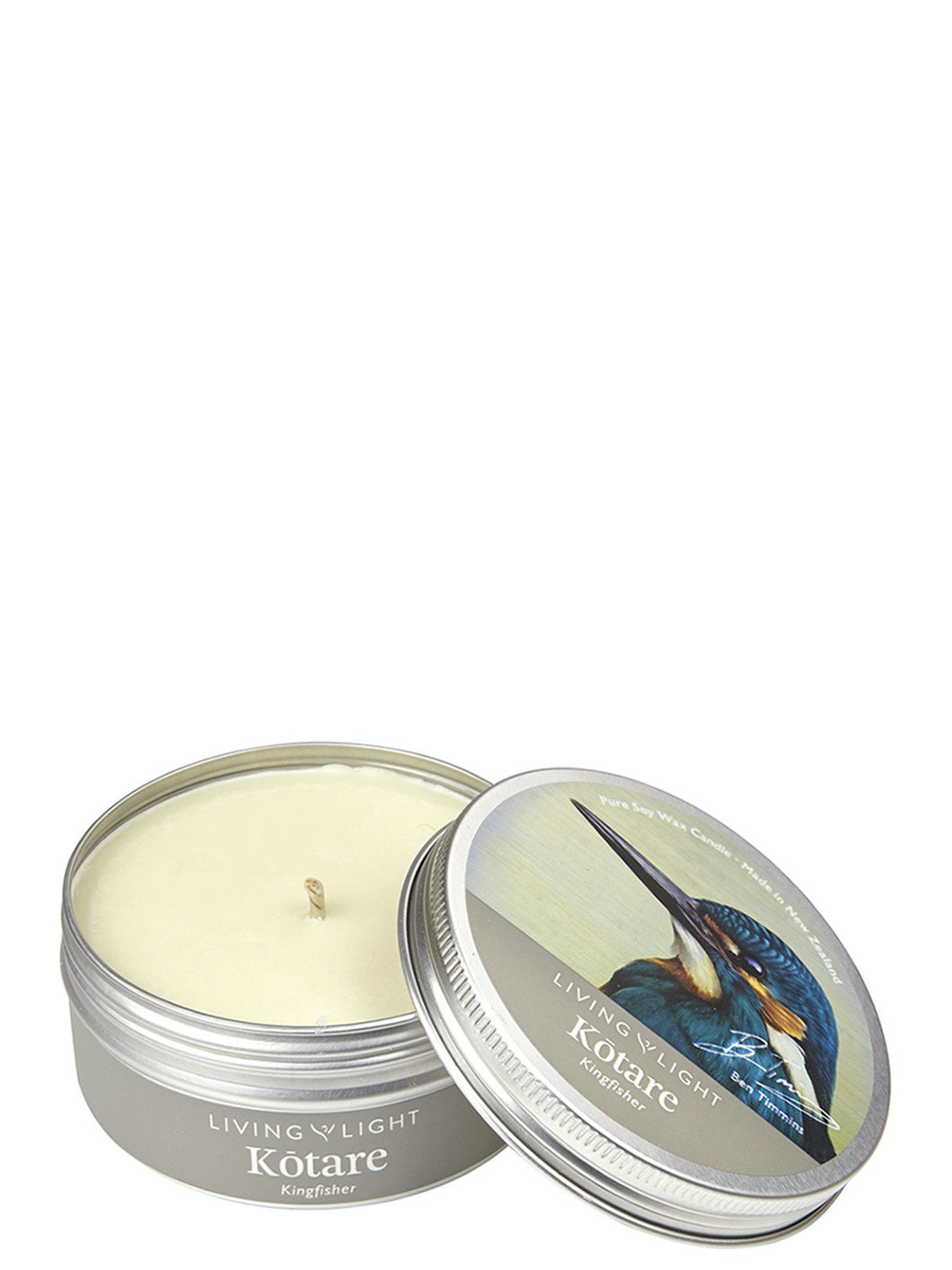 Kotare (Kingfisher) inspired Soy Candle in Tin