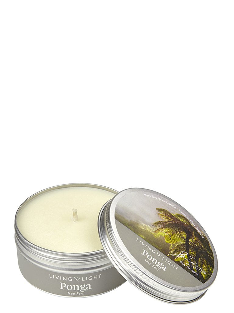 Ponga inspired Soy Candle in Tin