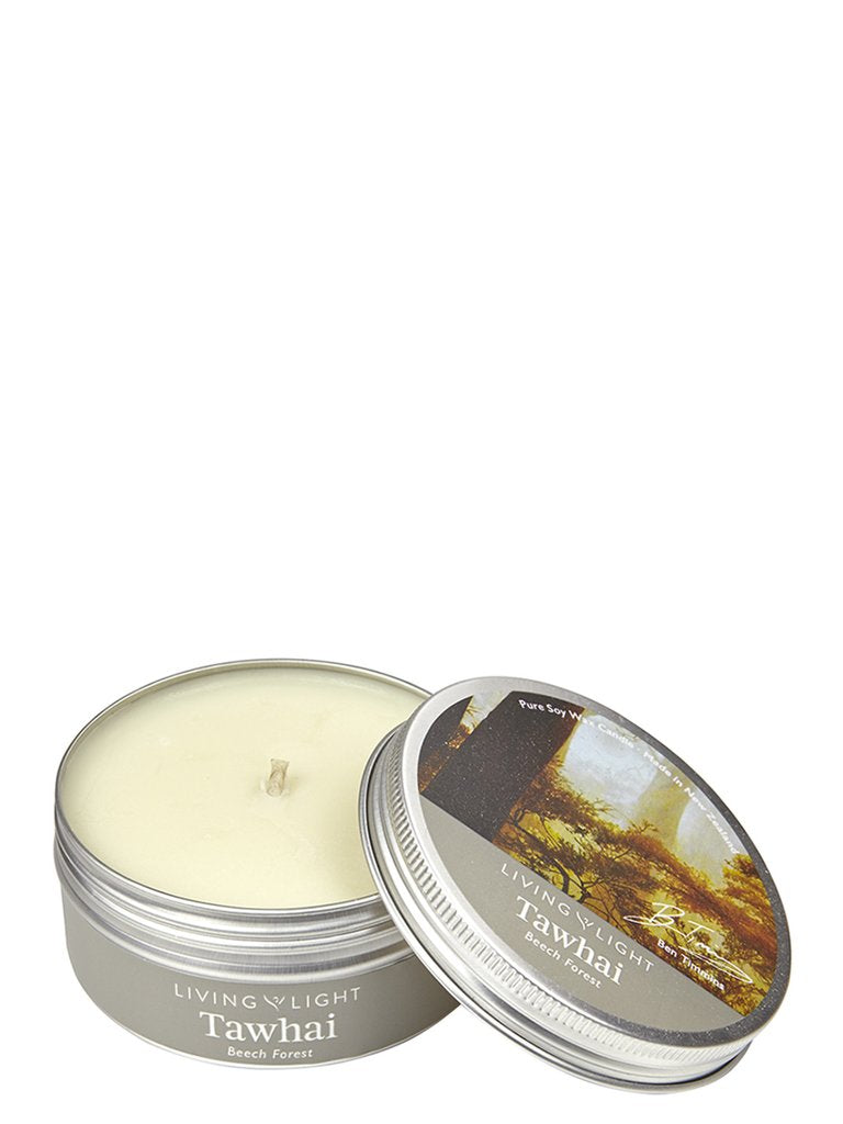 Tawhai (Beech Forest) inspired Soy Candle in Tin