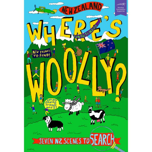 Where's Woolly Children's Book