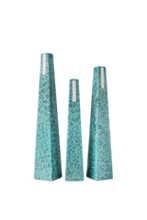 Load image into Gallery viewer, Ocean Icicle Candle - 3 sizes