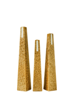 Load image into Gallery viewer, Champagne & Cassis Icicle Candles - 3 sizes