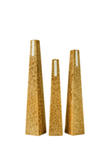 Champagne & Cassis Icicle Candles - 3 sizes