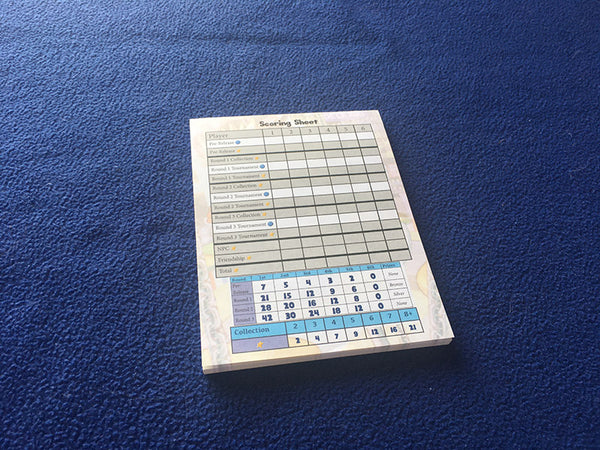 Updated Score Pad in Millennium Blades Collusion