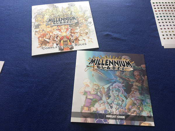 Millennium Blades Collusion Rulebook and Duelist Guide