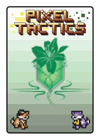 Pixel Tactics Back Green Promo