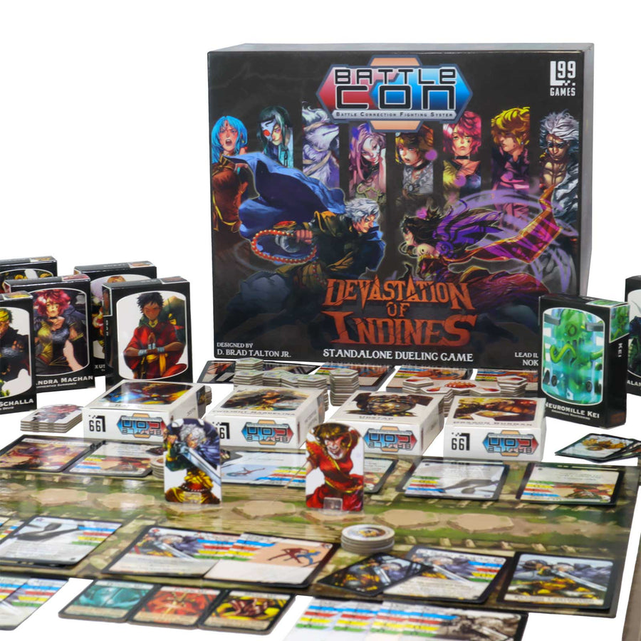 BattleCON: Devastation (Pre-Order) - Level 99 Store - Level 99 Games