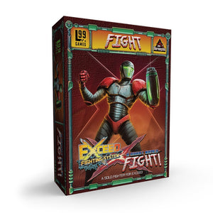 Exceed: A Robot Named Fight! Solo Fighter - Level 99 Store - Level 99 Games