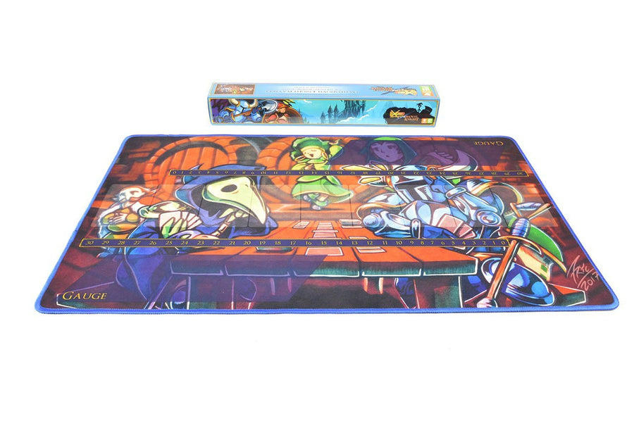 Exceed: Shovel Knight Playmat (Embroidered Edge) - Level 99 Store - Level 99 Games