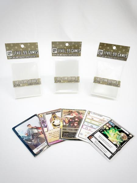 Premium Gaming Sleeves (50ct Pack)