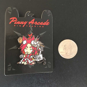 Pinny Arcade Trading Pin: Seijun - Level 99 Store - Level 99 Games