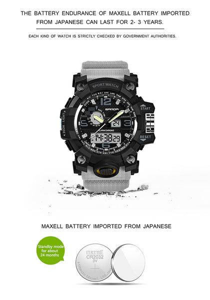 MONTRE TACTIQUE ETANCHE | EXTREME WATERPROOF
