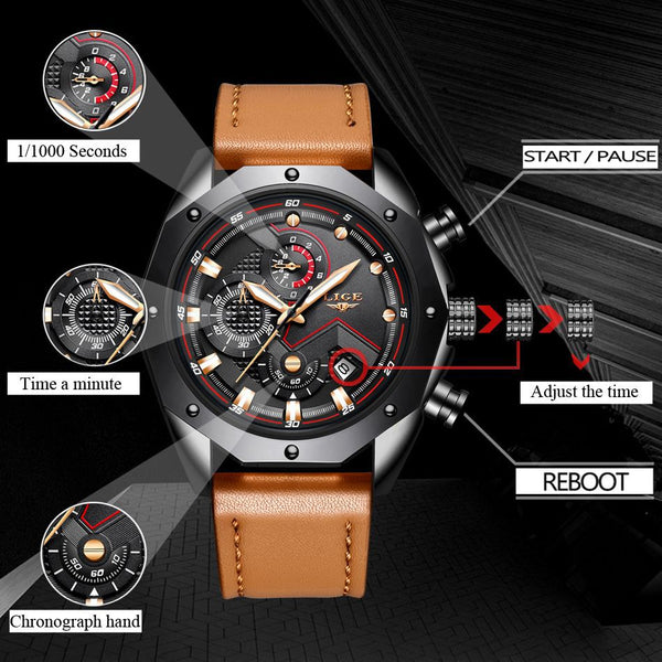 Montre Chrono homme | Extreme Waterproof
