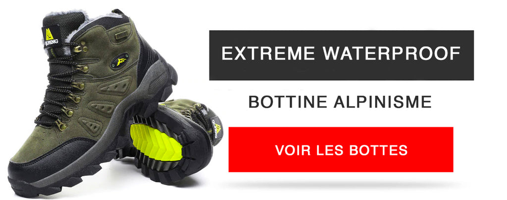 Botte alpiniste l Extreme Waterproof