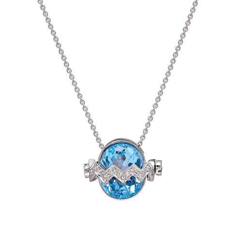 BLUE GIRL NECKLACE