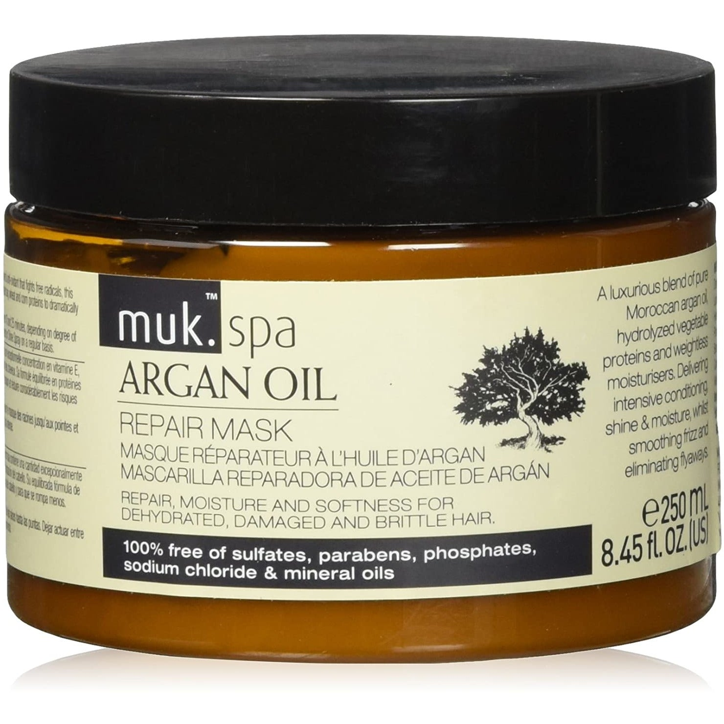 muk Spa Argan Oil Repair Mask