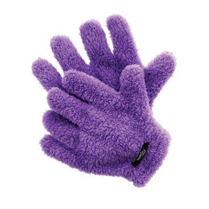 Curl Keeper Quick-Dry Styling Gloves Purple