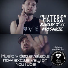 zachy j ft mosarie haters music video r0ok clothing co @r0okclothing music video