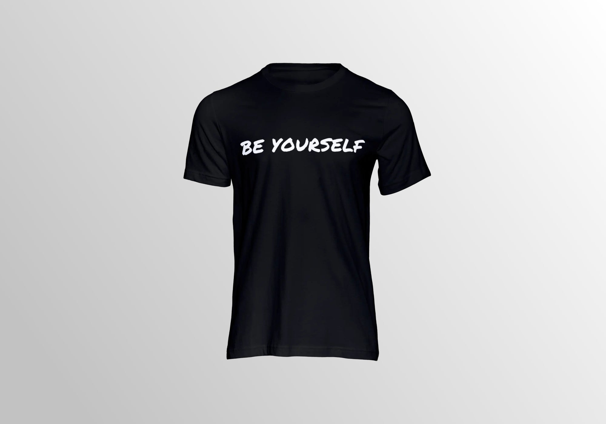r0ok-clothing-co BE YOURSELF TEE.