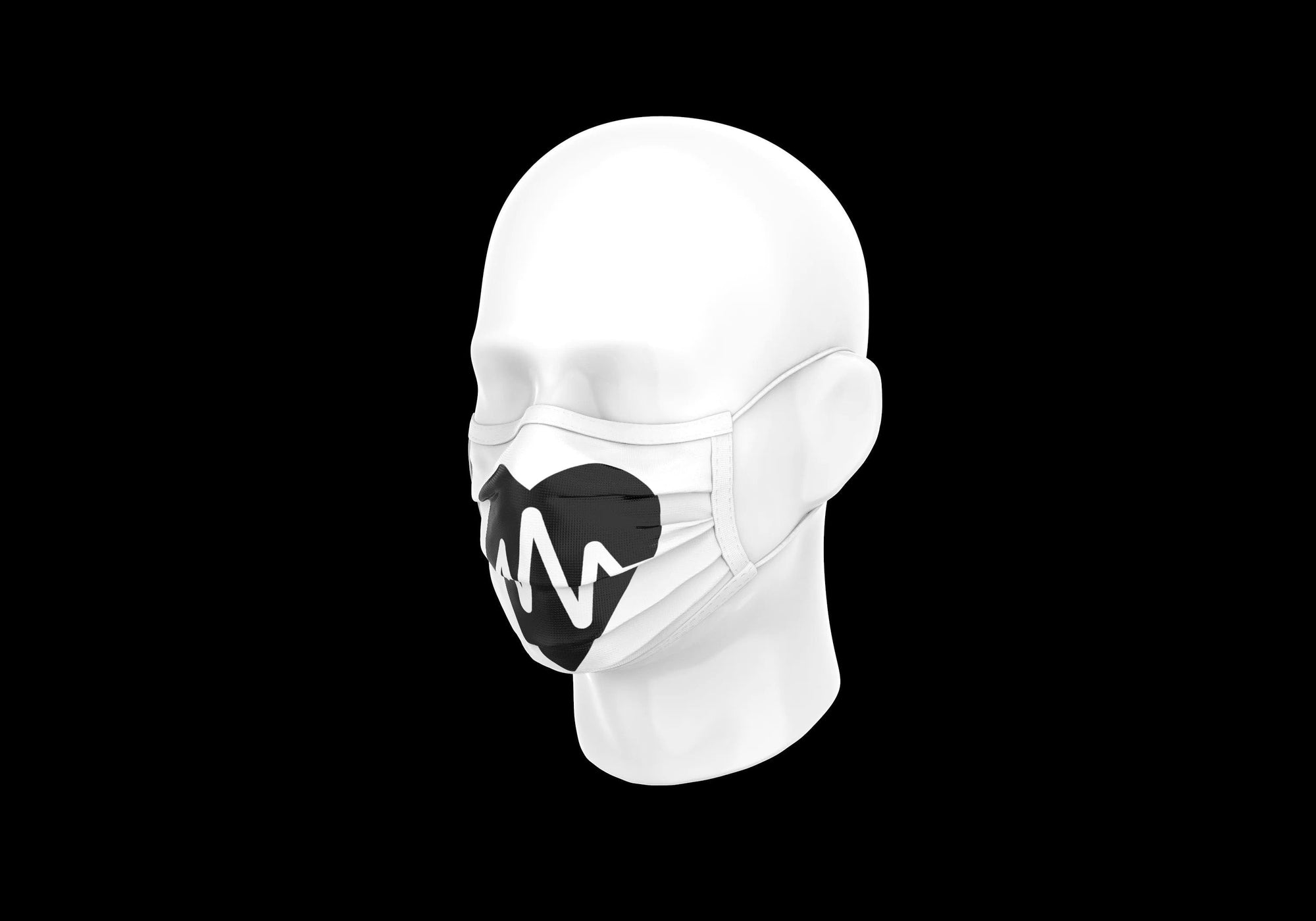 r0ok-clothing-co r0ok<3 MASK - WHITE.