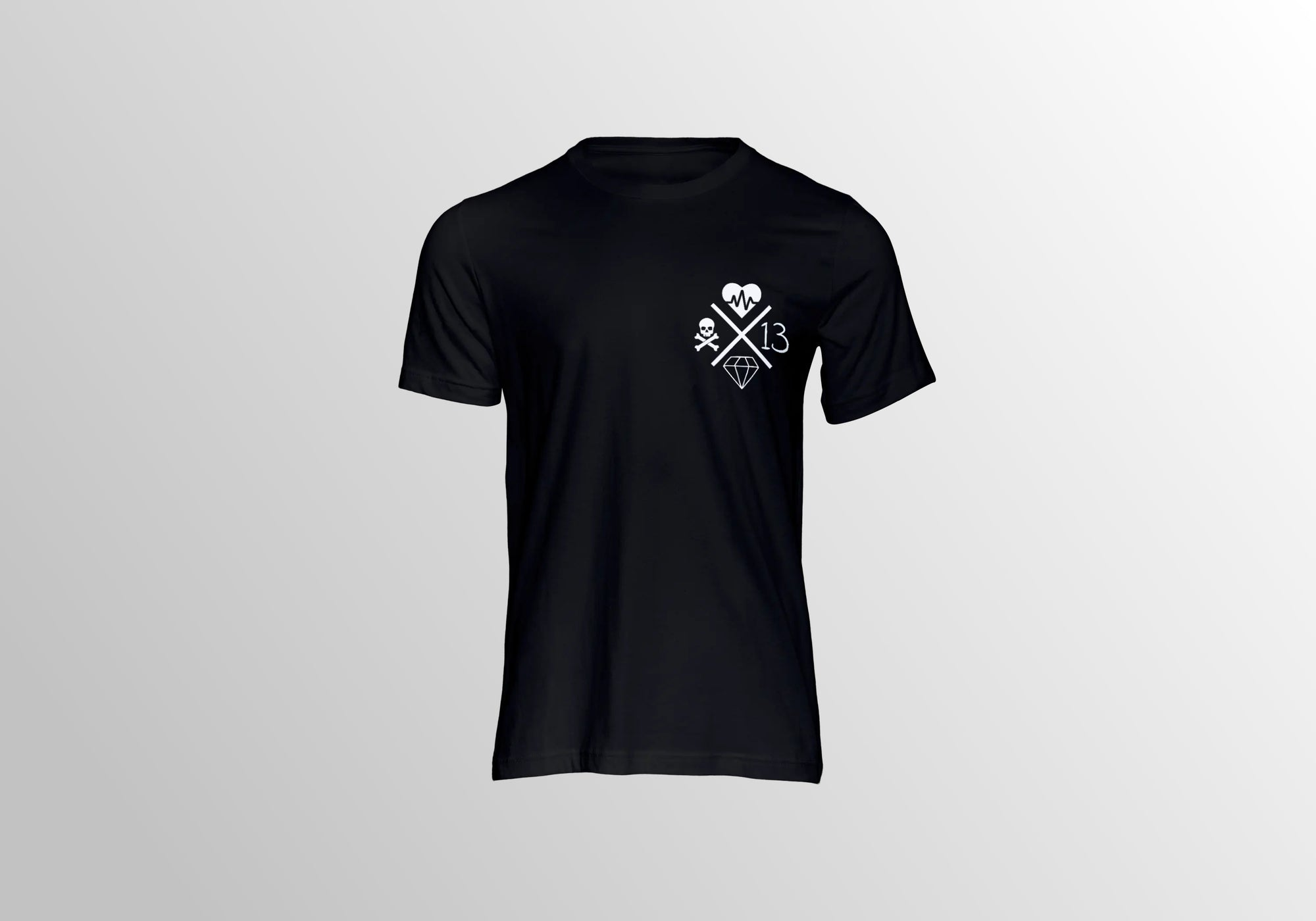 CROSSCHECK TEE - BLACK