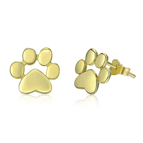 Paw Stud Earrings - Doggy Plaza