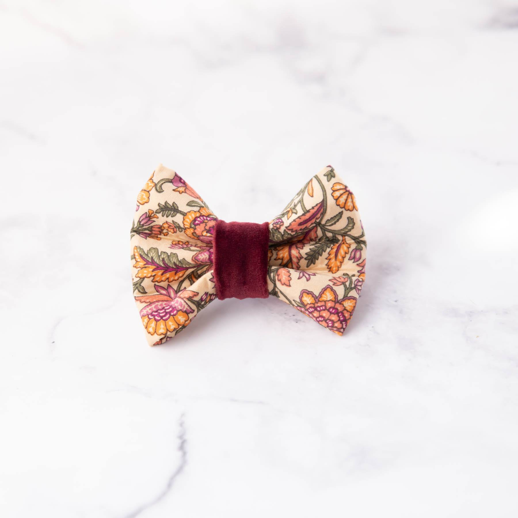 Autumn Dog Bow Tie