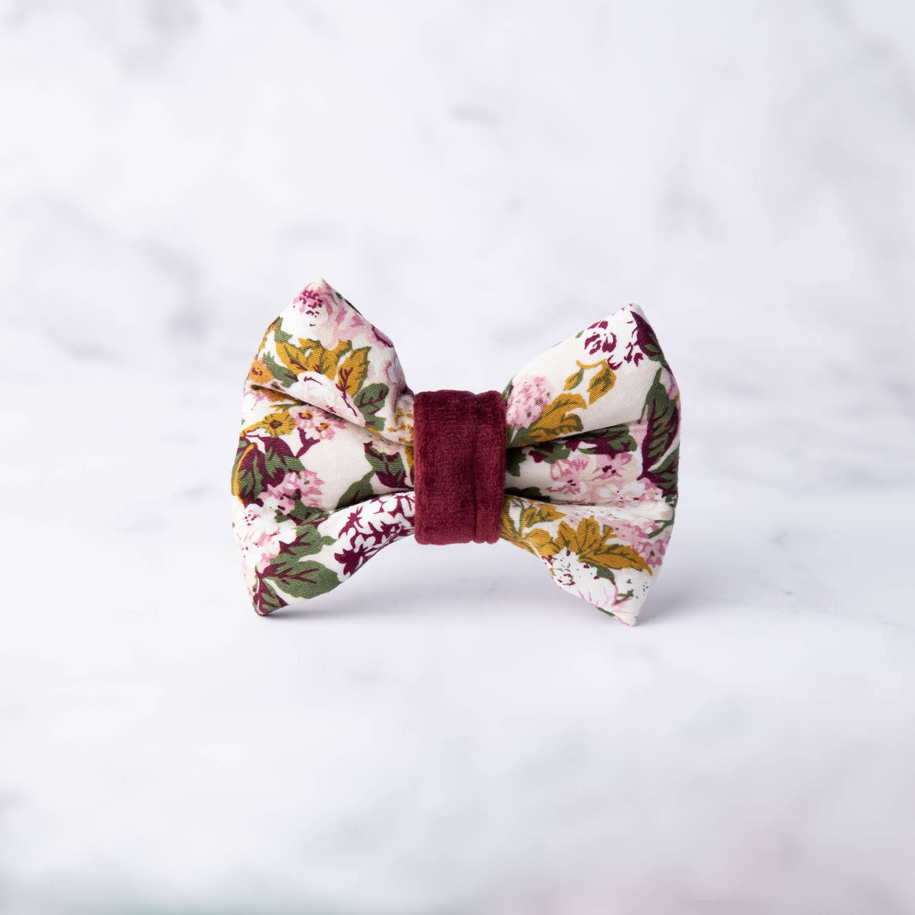 April Dog Bow Tie