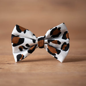wild dog bow tie luxury dog apparel