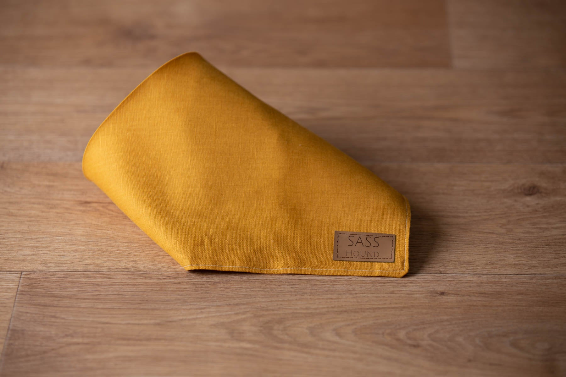 Turmeric Dog Bandana luxury dog apparel