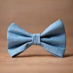 Load image into Gallery viewer, levi bow tie Luxury dog apparel
