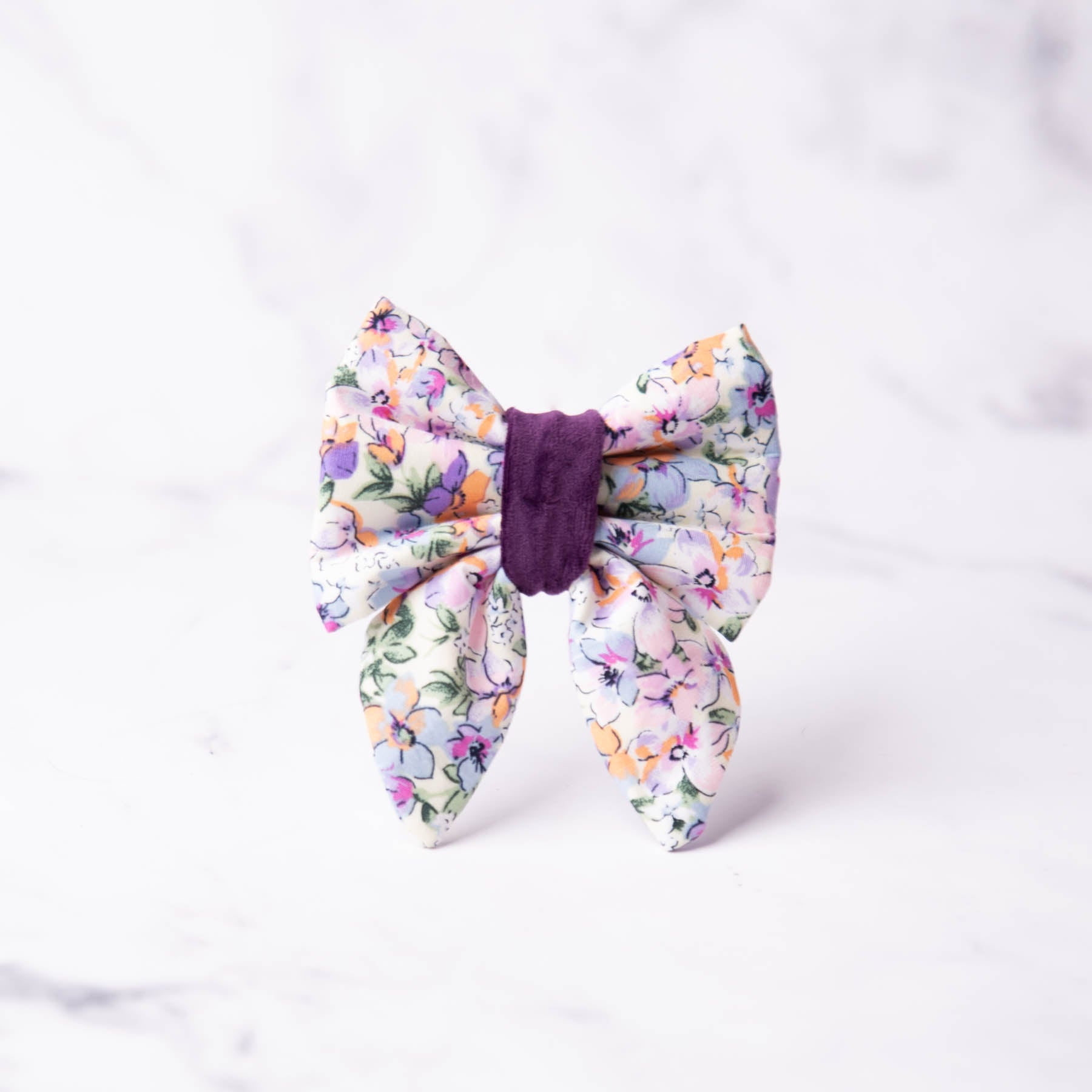 Lucy Dog Sailor Bow Tie