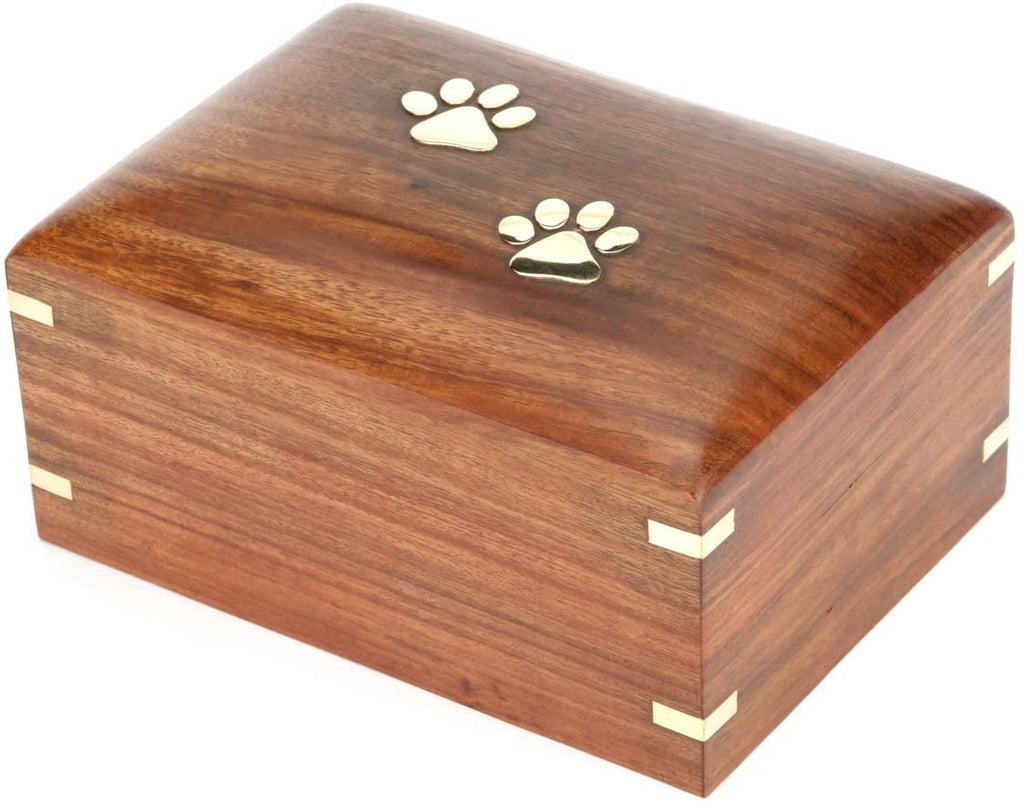Wooden urn for Pet ashes