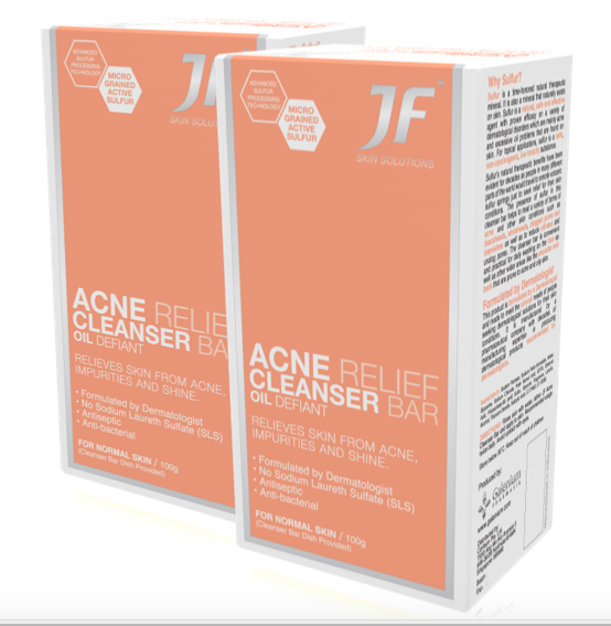 JF Cleanser Bar for Normal Skin - Duo