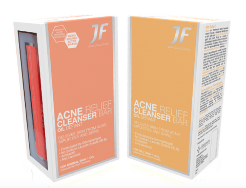 JF Cleanser Bar for Oily + Normal Skin