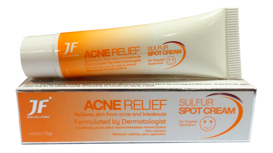 *JF Acne Relief Sulfur Spot Cream