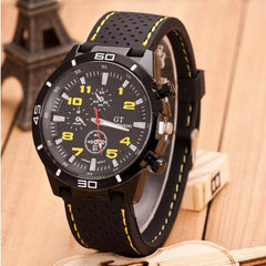 Leather Men's Quartz Clock watches male Sport Watches Leisure Herrenuhr Man Military Wrist Watch Reloj de hombre gifts